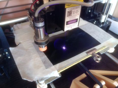 Cutting Foam and Vinil with upgraded Anet A8