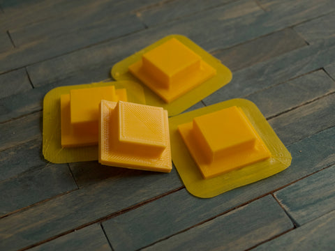 3D printed PLA stamps