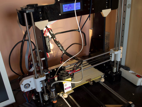Upgraded Anet A8 with CNC laser