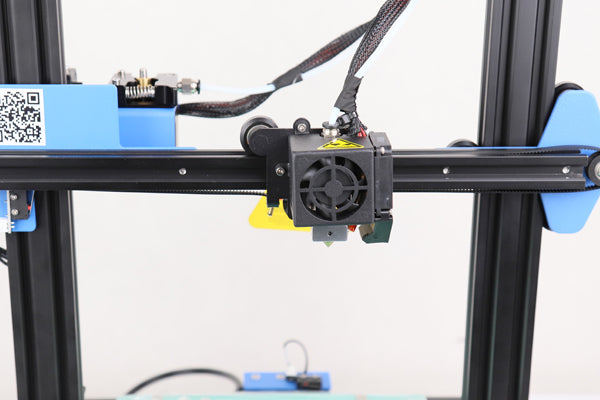 X-axis belt and assembly of Anet ET4X 3D printer