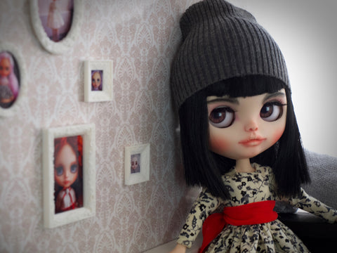 Customize Blythe dolls with Anet A8 3D printer