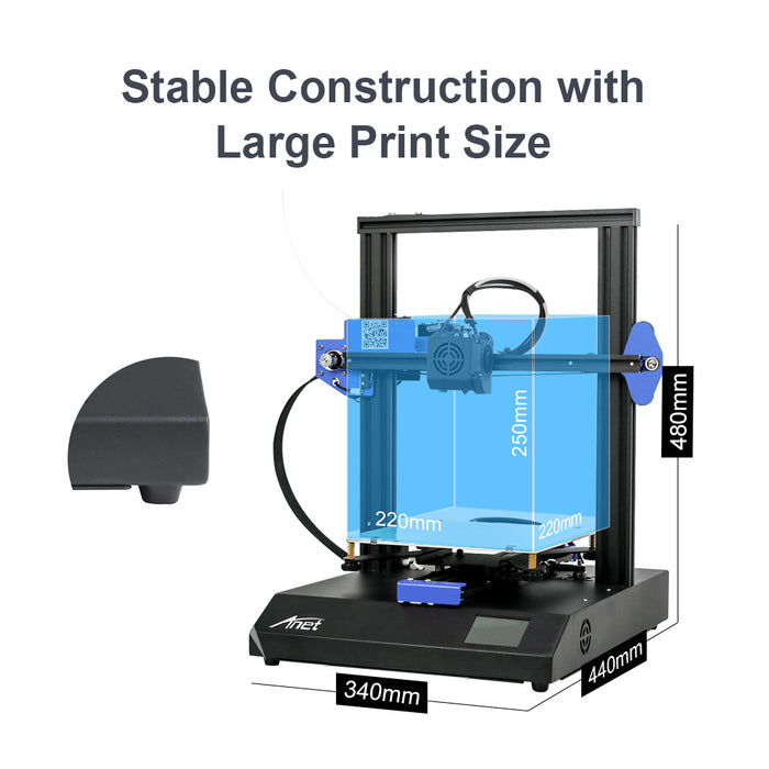 ET4X 3D Printer with Resume Printing - Anet 3D Printer