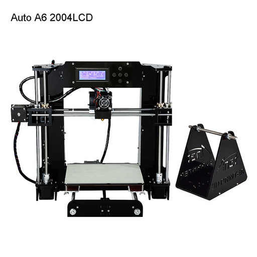 Anet A6 DIY FDM 3D Printer 200*220*250mm Print Size 2004LCD with Leveling Kits - Anet 3D Printer