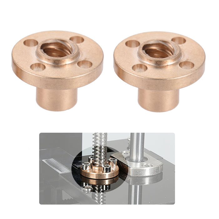 Z Axis Lead Screw Nuts 2 Pcs - Anet 3D Printer