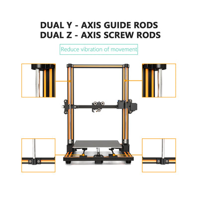 E16 Large Work Space 3D Printer