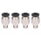 10pcs PC4-M6 Pneumatic Connector for MK8 OD 4mm Tube Filament M6 Feed Fitting Coupler - Anet 3D Printer