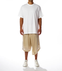 Y-3 CL LOGO TEE WHITE