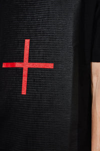 Thom Krom MTS574 Cross Tee Black
