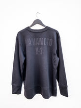 Load image into Gallery viewer, Y-3 CH2 GFX MESH CREW SWEATSHIRT BLACK