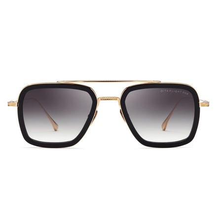 FLIGHT 006 MATTE BLACK GOLD 7806-B-14K-BLK-GLD-52