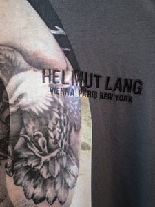 Helmut Lang Eagle Boy Tee Pewter