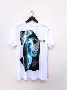 Helmut Lang Eagle Boy Tee White