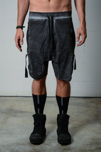 Thom Krom MST172 Button Up Side Shorts Black Oil