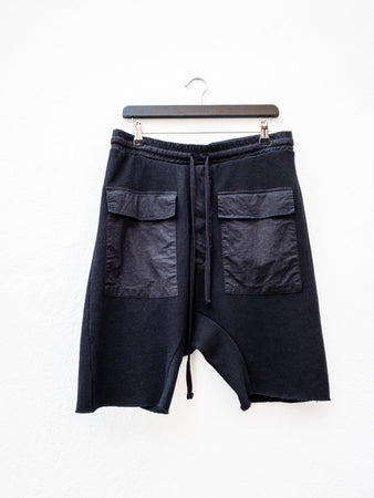 Thom Krom MST188 Pocket Shorts Black