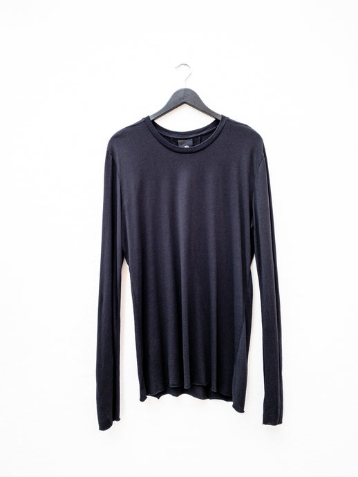 Thom Krom MTS474 Long Sleeved Tee Black