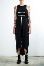 Load image into Gallery viewer, Thom Krom WTD67 Long Print Dress Black