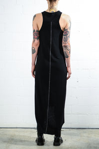 Thom Krom WTD67 Long Print Dress Black