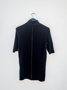 Thom Krom WTS373 High Neck Top Zip