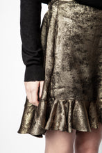Load image into Gallery viewer, Zadig et Voltaire Jurins Gold Skirt