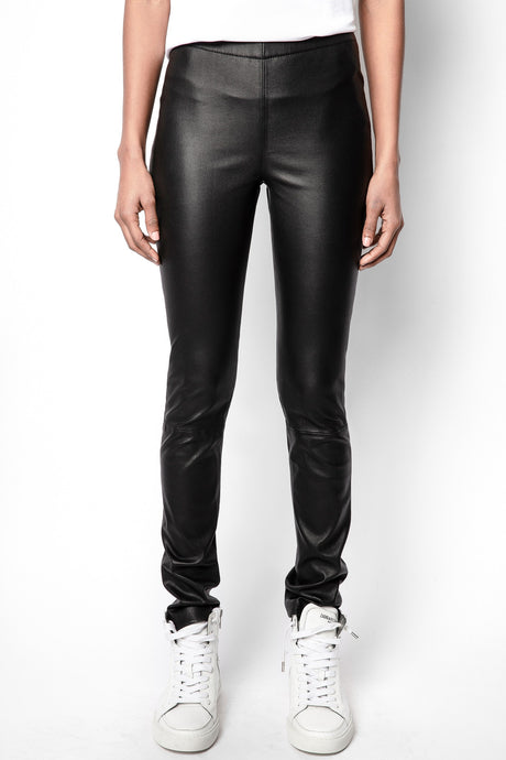 Zadig et Voltaire Pharel Leather Leggings