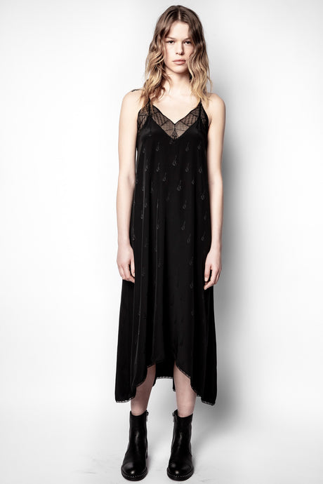 Zadig et Voltaire Risty Guitar Silk Dress