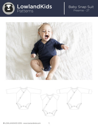 Baby Snap Suit - Lowland Kids