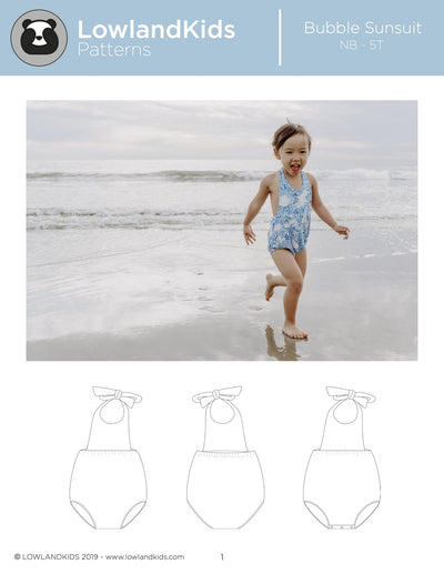 Bubble Sunsuit - Lowland Kids