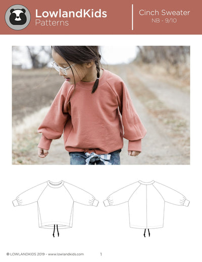 Cinch Sweater - Lowland Kids