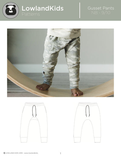 Gusset Pants - Lowland Kids