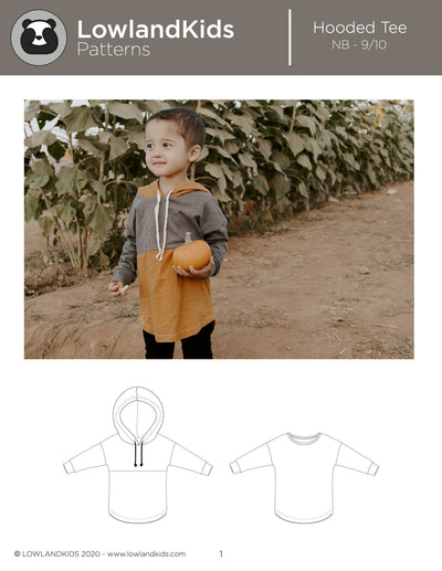 Hooded Tee - Lowland Kids