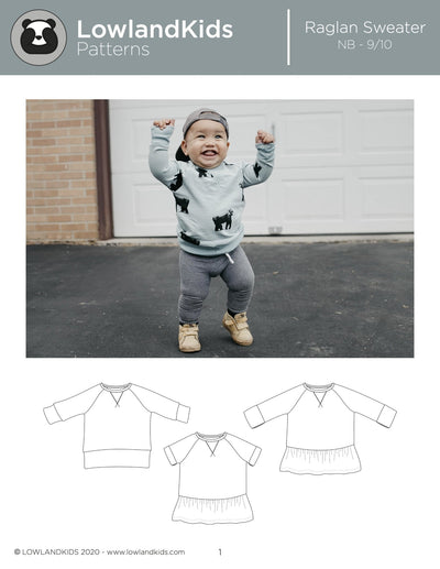 Raglan Sweater - Lowland Kids