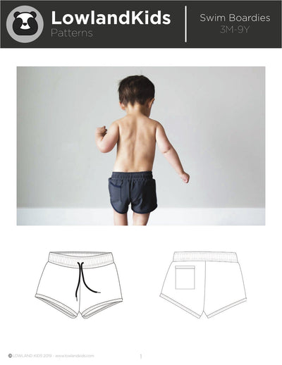 Swim Boardies - Lowland Kids