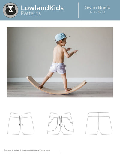 Swim Briefs - Lowland Kids