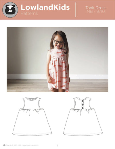 Tank Dress - Lowland Kids