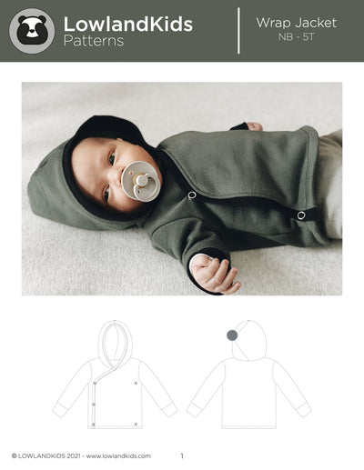 Wrap Jacket - Lowland Kids
