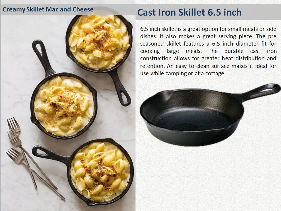 Pre-Seasoned / Ready to use Cast Iron Cookware