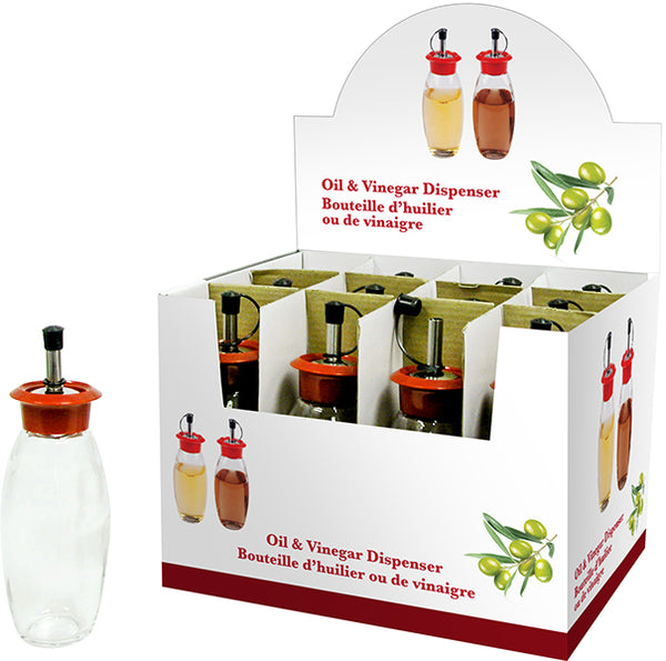 "Oil and Vinegar Dispenser 8"" - BayShoomar"