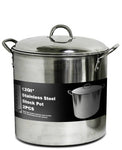 Stock Pot Stainless Steel Dome Lid - BayShoomar