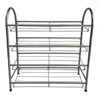 4 Tier Heavy Duty Metal Shoe Rack - BayShoomar