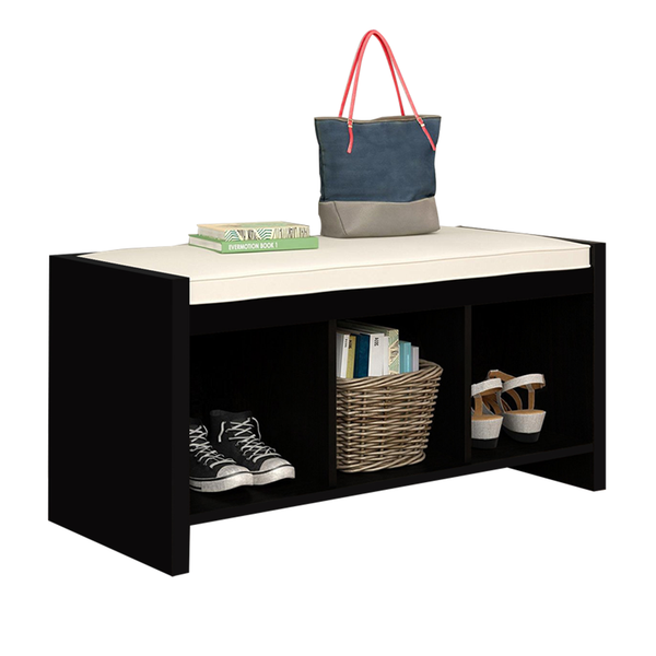 Cushioned Bench with Storage - BayShoomar