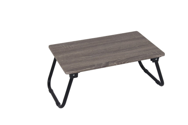 Laptop Table Wood Look Grey MDF - BayShoomar
