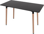 Heavy Duty Table [Black | White] Dining; Office - BayShoomar