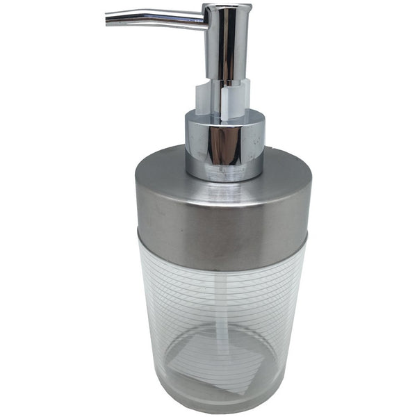 Stainless Steel - Acrylic Soap Dispenser - BayShoomar