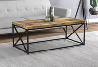 "Coffee Table 44"" Reclaimed Wood"