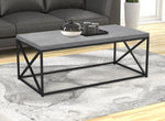"Coffee Table 44"" Cement 