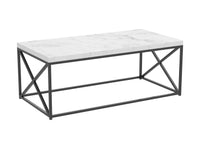 "Coffee Table 44"" Marble Top"