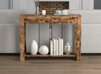 Console Table | 2 Drawers + 1 Shelf