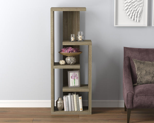 Book Shelf | 4 Staggered Shelves