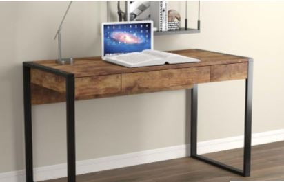 "Computer Desk 50"" / 3 Storage Drawers"