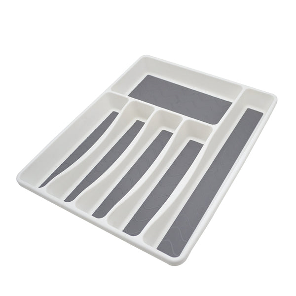 Cutlery Tray | 6 Drawer Divider | Large Size | Anti Slip